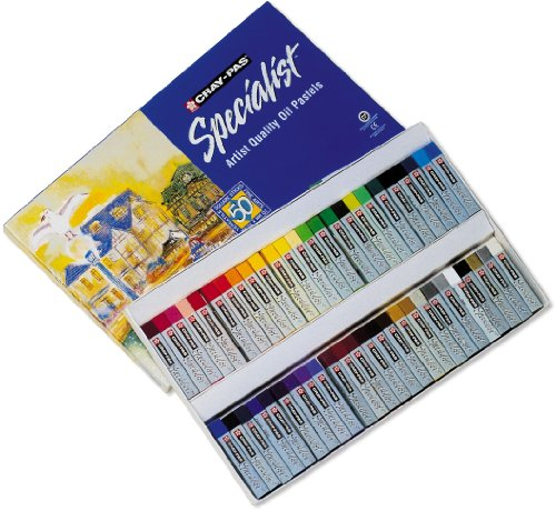 Sakura ESP50 50-Piece Cray-Pas Specialist Assorted Colors Oil Pastel Set