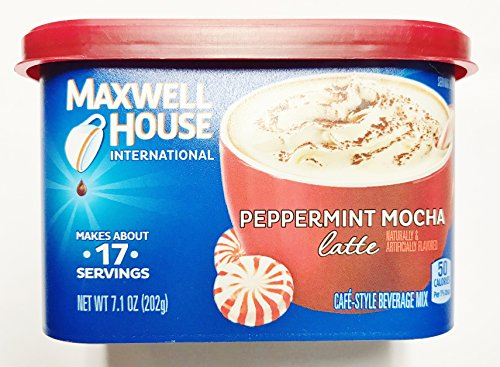 Maxwell House Peppermint Mocha Latte 7.1 oz. (Pack of 2) (Cafe Express Cafe Mocha)