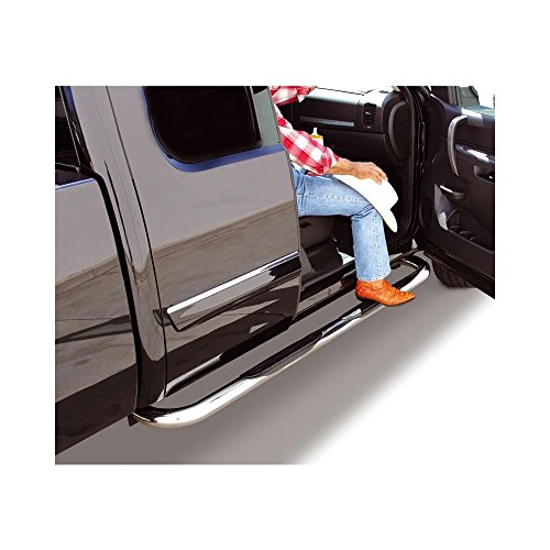 4000 Series Nerf Bars for 1997-1998 C/K SERIES EXTENDED CAB 3DR. CHROME