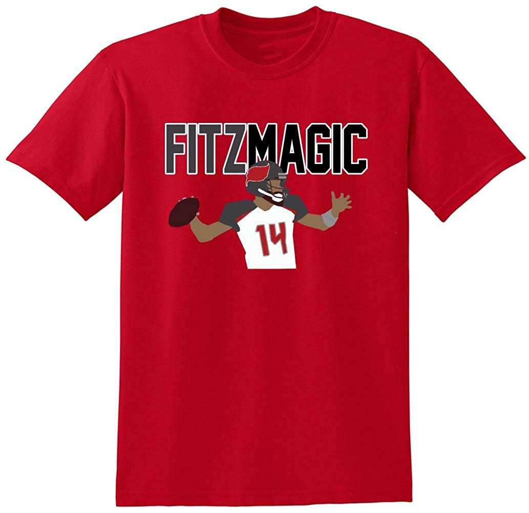 huge selection of ce370 2d2a7 RED Tampa Bay Fitzpatrick Fitz Magic T-Shirt at Amazon Men's ...