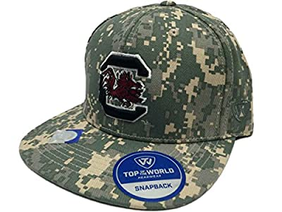 Top of the World South Carolina Gamecocks TOW Digital Camo Patriot Snap Adjustable Snap Hat Cap by Top of the World