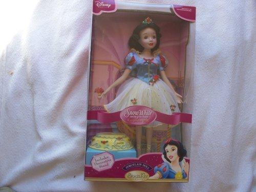 """Brass Key Disney Snow White Porcelain Ballerina Doll - 17"""""""