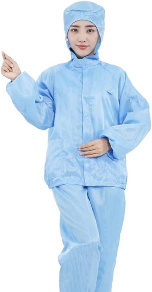 CGBF-Mono Desechable Traje de Protección Ropa de Protección, Transpirable a Prueba De Polvo Antiestático Mono, Diseño Flexible para Diferentes Tipos de Cuerpos,XL