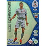 ADRENALYN XL FIFA WORLD CUP 2018 RUSSIA - ROBERT LEWANDOWSKI TOP MASTER TRADING CARD - POLAND #467