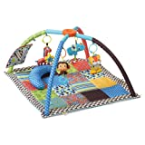 Infantino Twist and Fold Activity Gym, Vintage Boy, 1-Pack