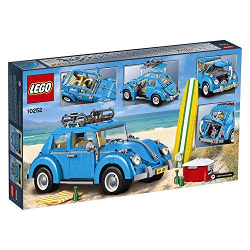 51Pdusd0BZL - LEGO Creator Expert Volkswagen Beetle 10252 Construction Set