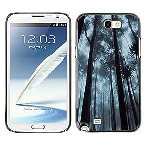"For Samsung Note 2 N7100 , S-type Planta Naturaleza Forrest Flor 92"" - Arte & diseño plástico duro Fundas Cover Cubre Hard Case Cover"