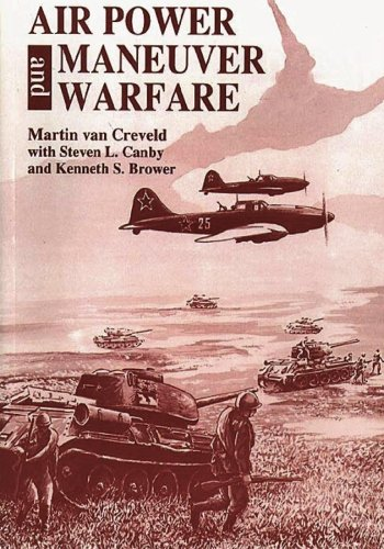 Book cover from Air Power and Maneuver Warfare by Martin van Creveld