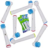 ITECHNIK Oral B Replacement Brush Heads for Oral-B Sensitive Brush EB17s Toothbrush Heads,Sensitive Brush 8 Pack. offers
