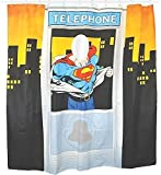 Superman Telephone Box Shower Curtain