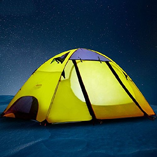 Desert Fox Professionelle Pole Double Bunk Outdoor-Camping-Zelt
