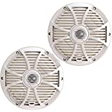 Wet Sounds SW Series 8 White Convertible Marine Coaxial Speaker - 250 Watts Max / 125 Watts RMS