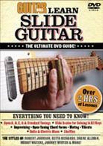 Guitar World -- Learn Slide Guitar: The Ultimate DVD (Education Slide Guide)