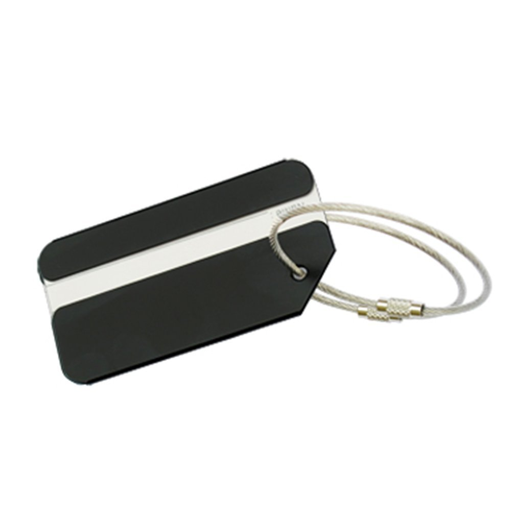 VORCOOL 7Pcs Luggage Tag Aluminum Travel Luggage Baggage Handbag Tag Fashion Environment Friendly Travel Luggage Tags by VORCOOL (Image #8)