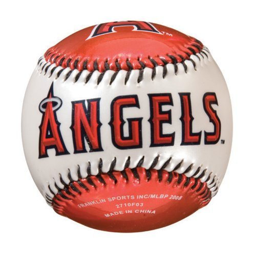 fan products of Franklin Sports MLB Los Angeles Angels Team Softstrike Baseball