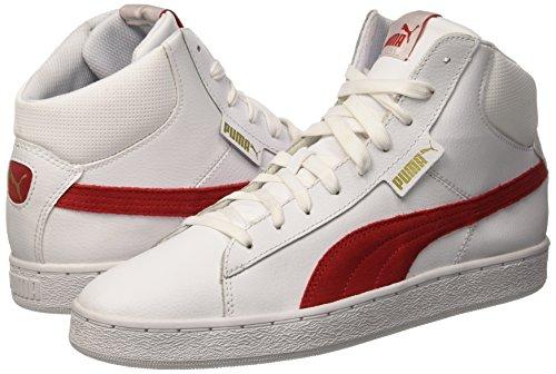 Puma 1948 Mid Sneaker Blanc L/Cherry Barbados 7