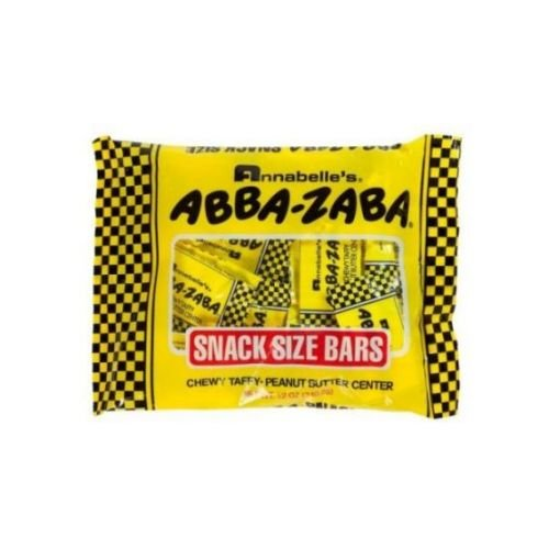 Abba Zaba Mini Candy, 12 Ounce - 20 per pack -- 24 packs per (Abba Zaba Mini)