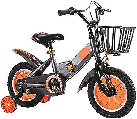 YUMEIGE Bicicletas Bicicleta para niños Plegable de 12