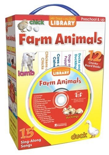My Take-Along Farm Animals Library (My Take-Along Library) by Brighter Child