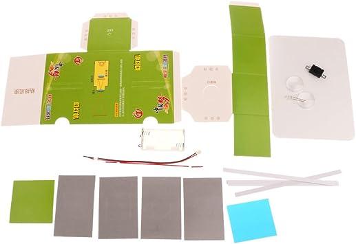 SM SunniMix Proyector de Diapositivas DIY Modelos de Diapositivas Juegos de Bricolaje Experimentos Científicos Regalo: Amazon.es: Juguetes y juegos