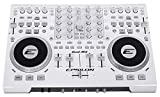 Precision Power QUADMIXWHITE Epsilon 4 Deck Usb Professional Midi Dj Controller [white]