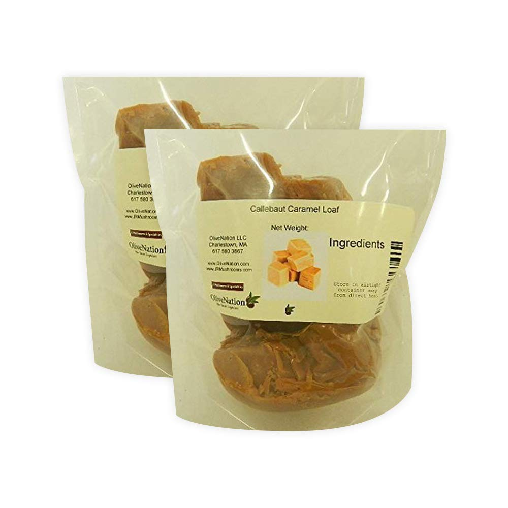 Callebaut Caramel Loaf 5 lbs (2 pack) by Callebaut