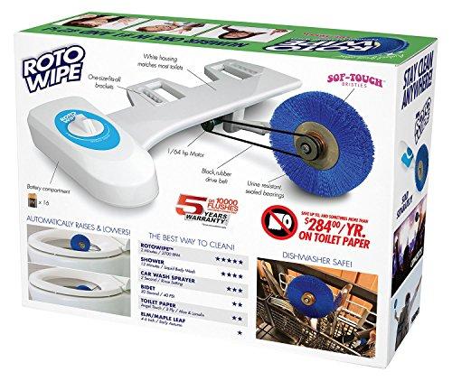 The Roto Wipe – Say Goodbye To Toilet Paper