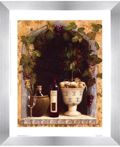 オリーブオイルとワインアーチI by Welby – 9.5 X 11.75インチ – アートプリントポスター 8  x 10  Inch LE_45564-F9935-9.5x11.75  Stainless Steel Wood Frame B01NH9L4YD