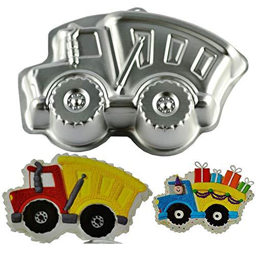 Cartoon train cake pan, Kids 3D Birthday Cake Pan, Aluminum Alloy Cake Molds Nonstick Baking Tools -