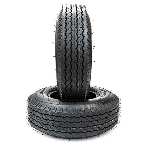 (Set of 2 4.80-8 Trailer Tires 4.00/4.80-8 Boat Tires 4 PR 4.80x8 Bias Tire)