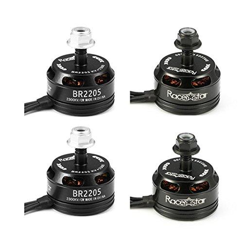 BangBang 4X Racerstar Racing Edition 2205 BR2205 2300KV 2-4S Brushless Motor Black For 210 X220 250 280