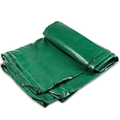 慈悲深い神聖アナウンサーGUOWEI-pengbu ターポリン キャンバス リノリウム シェード 日焼け止め 防水 耐摩耗性 防塵の 屋外 個人的なカスタマイズ (色 : Green, サイズ さいず : 2.8x3.8m)