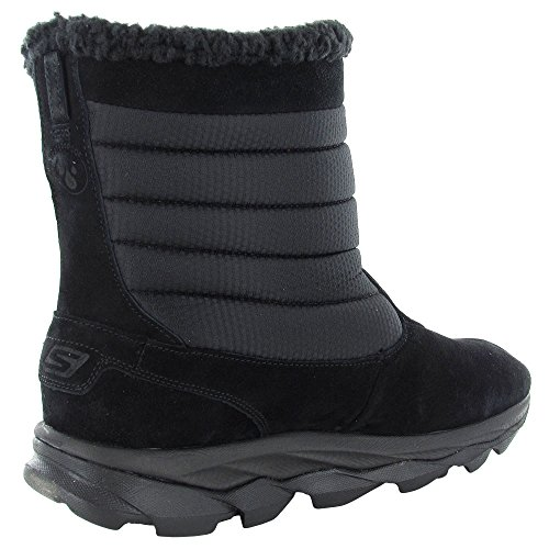 Skechers Dames Godri Ultra Bounce Waterproof Winterlaars Zwart