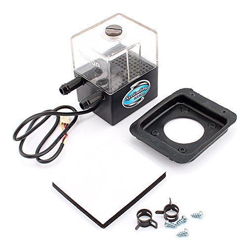 Yosoo SC-300T DC 12V Ultra-quiet Water Cooling Pump Tank 4W Reservoir max.300L/h for PC CPU Liquid Cooling System by Yosoo (Image #1)