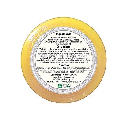 Body Scrub Excellent Exfoliating Body Scrub - 100% Pure Sea Salt Scrub, Excellent Hydrating, Exfoliation & Moisturizing Properties