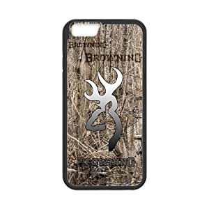 Canting_Good Real Tree Browning Cutter Logo Custom Case shin for iPhone 5 5s