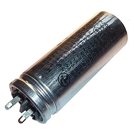 Start-up capacitor motor capacitor 80/μF 450 V 60 x 119 mm connector M8 ; Miflex; 80uF