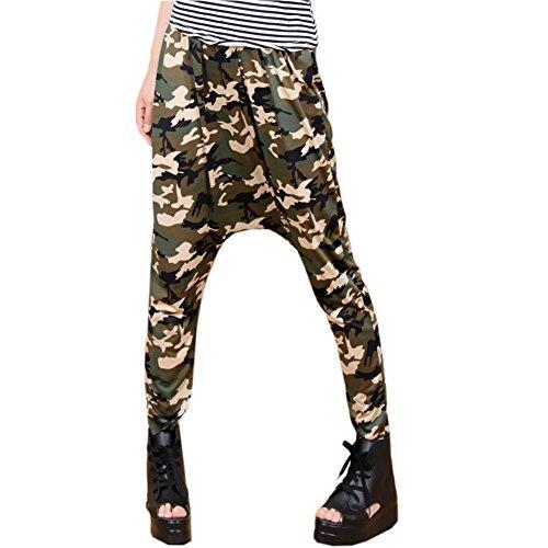 PanDaDa Crotch Camouflag Leggings Trouser