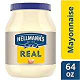 Hellmann's Real Mayonnaise, 64Ounce Bottles (Pack of 3)