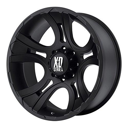 XD Series by KMC Wheels XD801 Crank Matte Black Wheel (17x9