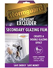 Stormguard 11SR0666SQM 6Sq m Secondary Glazing Window Insulation Film