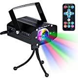 Disco Party Lights KingTop DJ Stage Led Strobe Lights with Remote Control Sound Activated Color Rotating for Home Birthday Karaoke DJ Parties Night Lighting (Black)