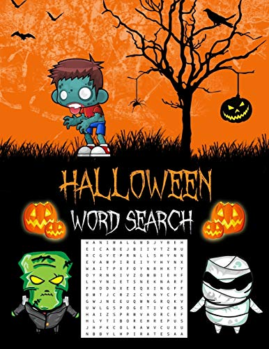 Smart Easy Halloween Costume Ideas (Halloween Word Search: Halloween Gifts (Puzzle Books For Adults &)