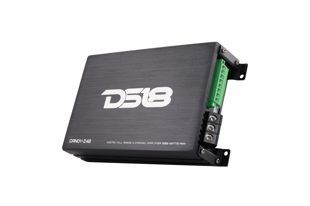 Black Automotive Dummy vendor code for NIS DS18Sound DS18 CANDY-Z4B Full Range 4 Channel Class D Multichannel 1800 Watts Max Mini Amplifier