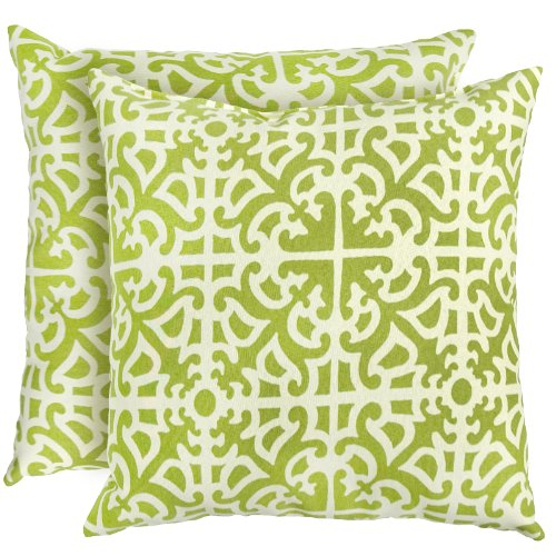 Greendale Home Fashions Indoor/Outdoor Accent Pillows, Grass, Set