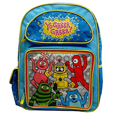 Backpack - Yo Gabba Gabba - Muno Brobee Foofa Large Bag | Kids\' Backpacks [5Bkhe1902438]
