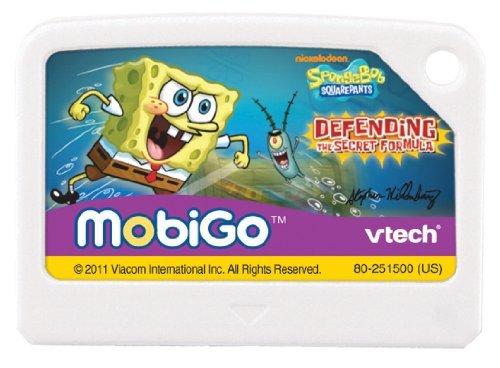 VTech - MobiGo Software - SpongeBob SquarePants Children, Kids, Game