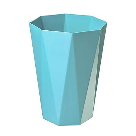 Amazon.com: Creative hogar papelera Polygon cubeta de basura ...