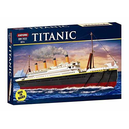 Oxford Titanic Building Block Kit, Special Edition