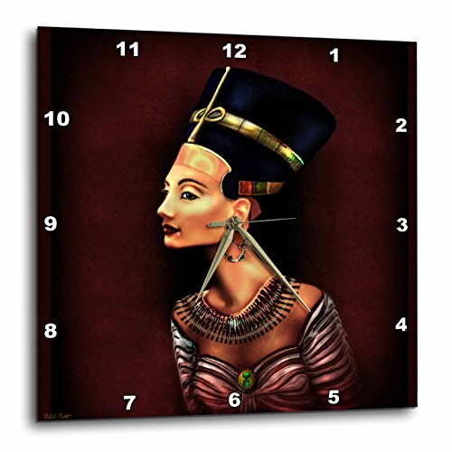 Dream Essence (Dream Essence Designs a Portrait of Nefertiti Inspired by The Ancient Egyptian Wall Clock, 10 By 10-Inch)